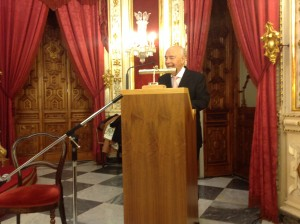 Pedro Miguel Lamet 2 Drago de Oro 2013